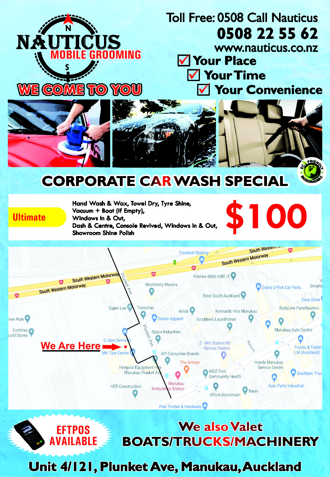 CORPORATE CAR WASH
